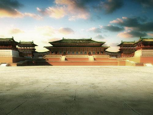 大明宫国家遗址公园效果图-大明宫国家遗址公园 带动城市发展的新模式