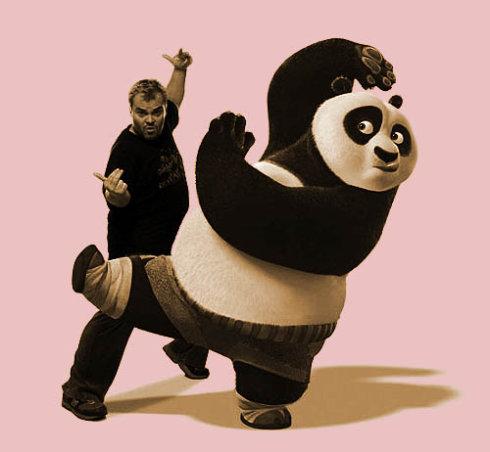看完功夫熊猫,想起黄元申