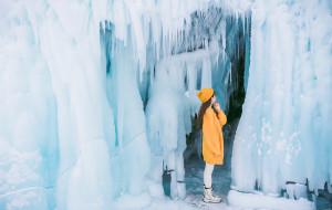 【贝加尔湖图片】[By Yozuki] ❄️贝加尔湖8日寻冰记❄️悉听纷雪低语,冬未走远,却开始想念
