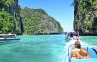 泰国 普吉岛 PP岛皮皮岛+蜜月岛 双体游艇寻海豚日落之旅(一日游两个必玩景点)