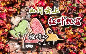 【房山图片】山间云上红叶飘窗——京郊房山坡峰岭红叶节