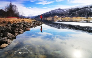 【冰岛图片】挪威冰岛--冰蚀的峡湾,熔岩的地与山,苍风劲,盏酒还!