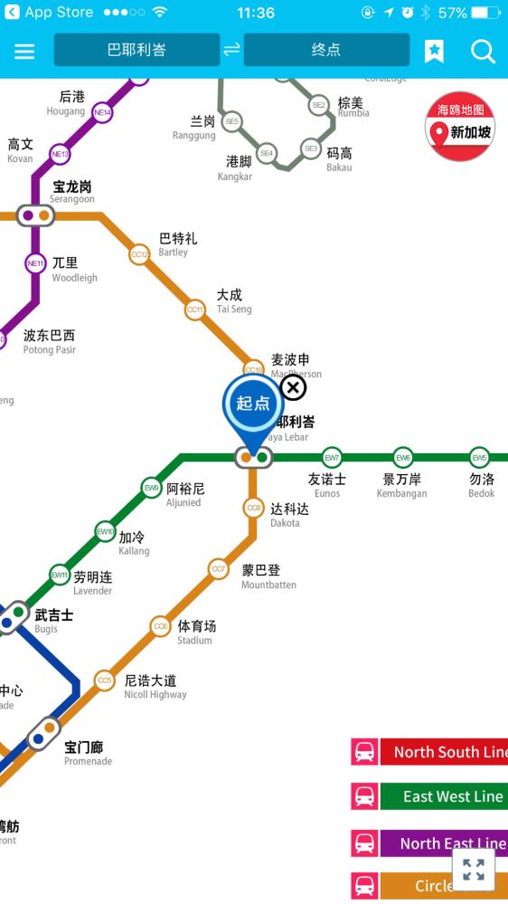 中国到新加坡地�_而且都是中文的,中文显示中文搜索,非常适合到新加坡旅游的中国游客