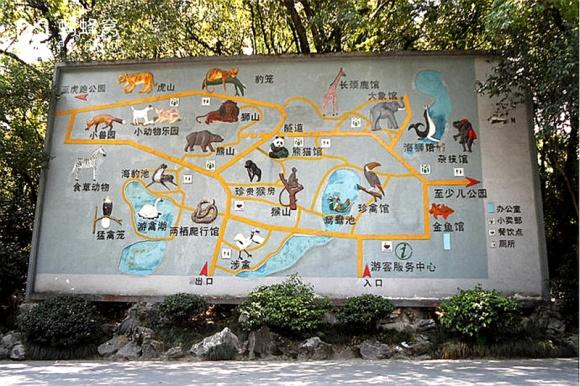 杭州动物园地址:杭州市西湖区虎跑路40号 乘坐4路,194路,197路,273路