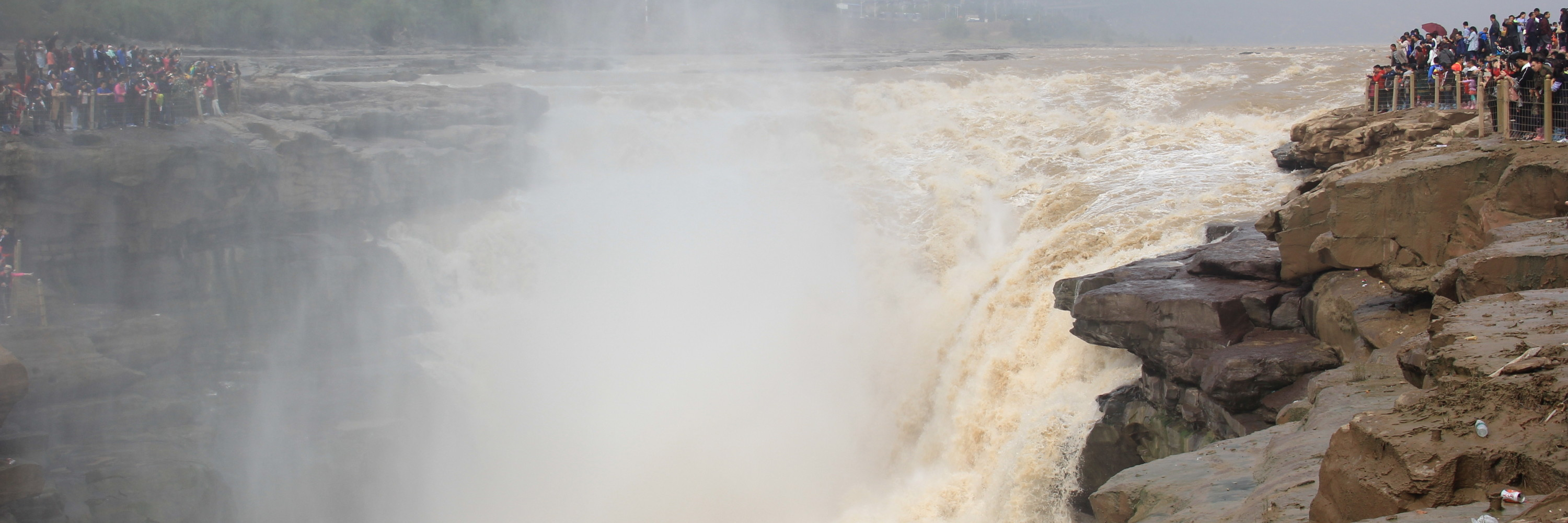 Hukou Waterfall on the Yellow River