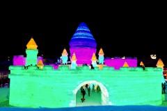 哈尔滨冰雕梦想的孤独