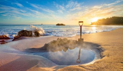 新西兰北岛 科罗曼德半岛热水海滩一日游(奥克兰往返