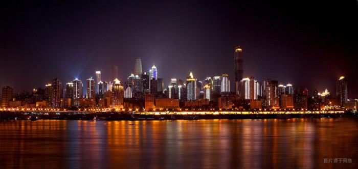 重庆夜景有多美? - fdycq - 费家村----老费的三角梅花园