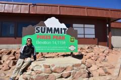 科罗拉多落基山之行 - 派克峰