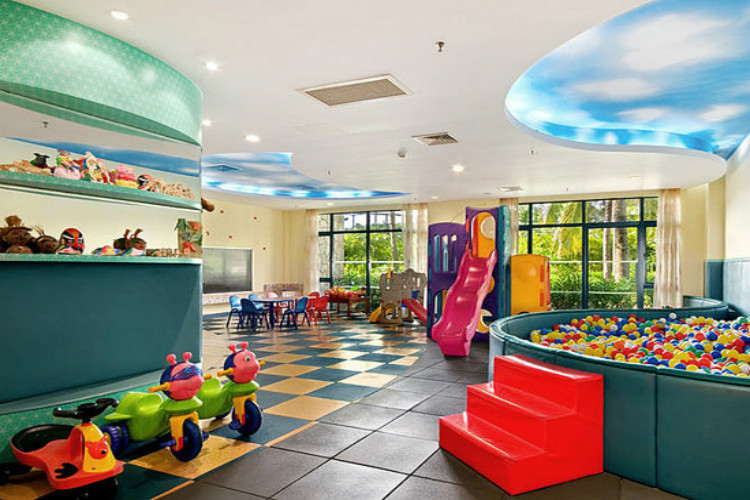 幼儿园室内区域设计图