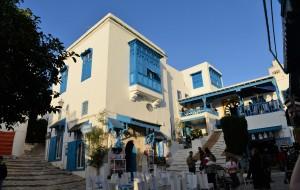 【突尼斯图片】北非魅影突尼斯——蓝白小镇的浪漫诱惑·西迪·布·萨以德