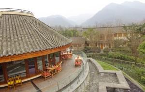 【青城山图片】带着家人去旅行:青城山六善,人均1280元含高铁、早晚餐、住和下午茶