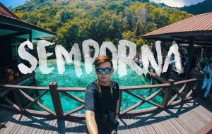 【仙本那图片】遗落在马来西亚的蓝宝石 沙巴 仙本那  (旅游视频) 潜水之旅 Solo游