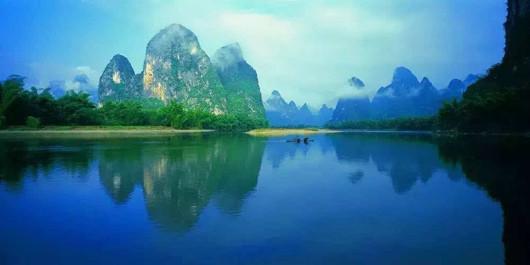 桂林山水画廊 船游漓江 漓江三星游船一日游(亲临20元