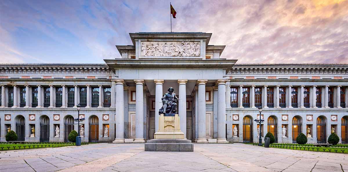 人气景点 西班牙皇家艺术收藏典范国立普拉多博物馆图片