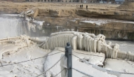 壶口瀑布冬季景观