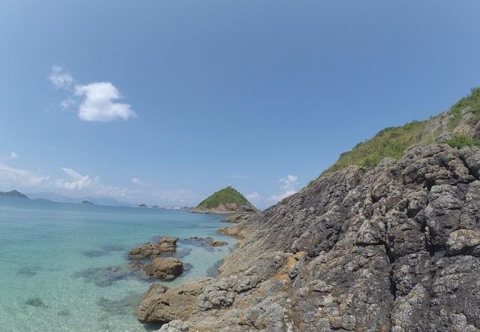 2018年五一荒岛求生--赤洲岛露营(4月30日-5月1日)