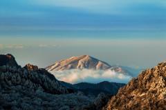 赏一山的白色胜景