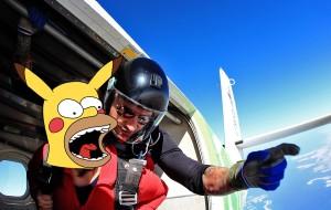 【迪拜图片】在全世界最棒的地方跳伞!