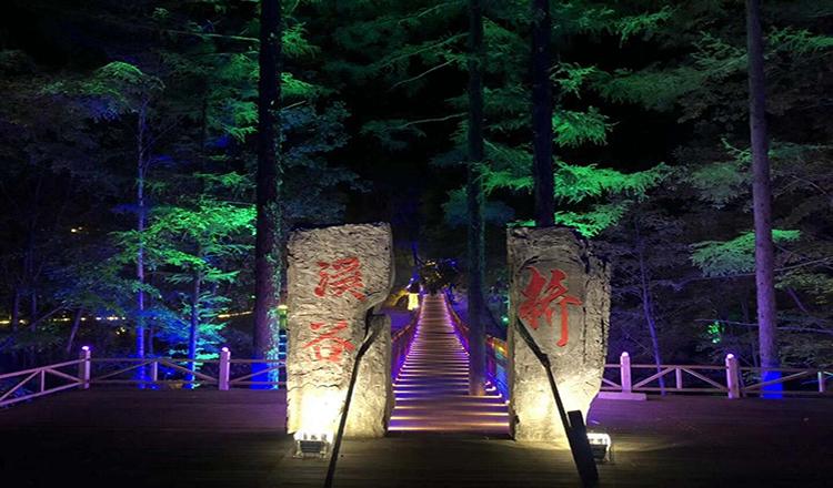 长白山森林峡谷夜景门票