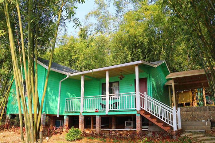 英西峰林九龙小镇松鼠森林木屋汤泉别墅,天然木质的设计风格,含双早图片