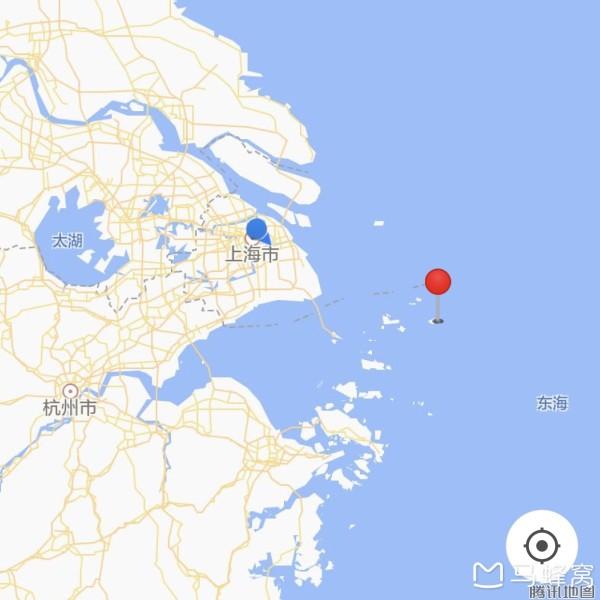 浙江嵊山岛地图