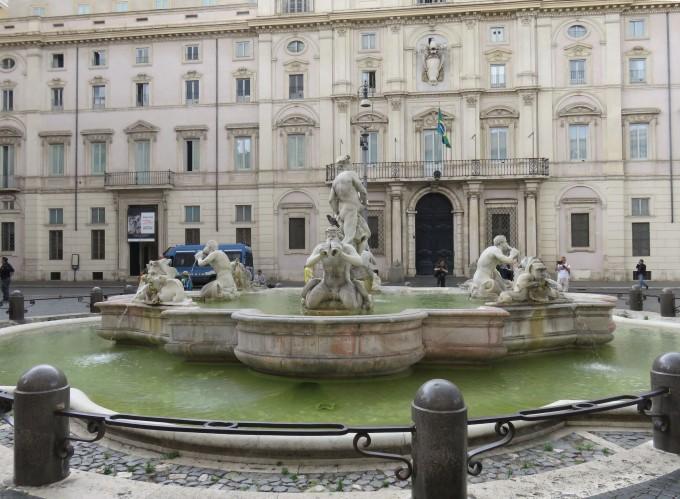 【意大利5.】罗马:纳沃纳广场,万神庙,圆柱广场