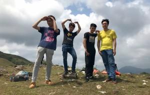 【恩平图片】恩平市那吉镇海拔711米的牛塘山