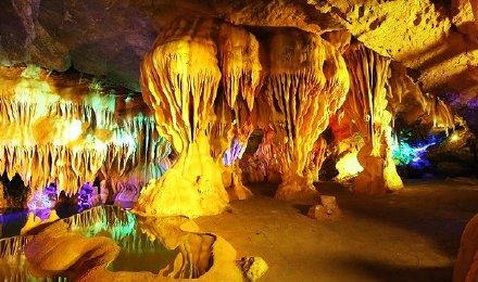 贵州九仙度假区门票 九仙洞溶洞 溶洞漂流套票