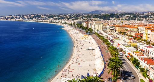 欧洲旅游 法国南部尼斯市区+罗斯柴尔德+滨海自由城一