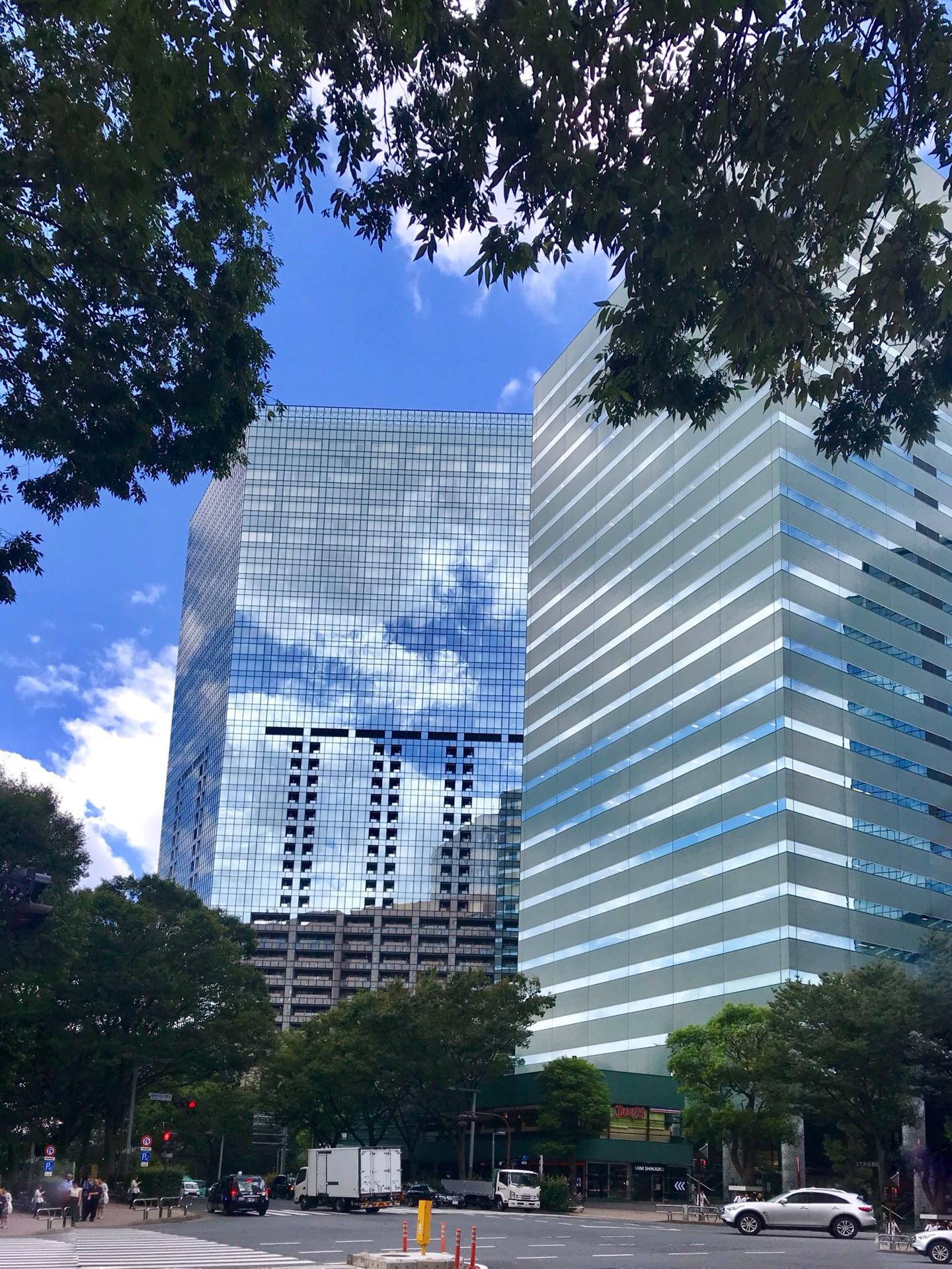 新宿的高楼群
