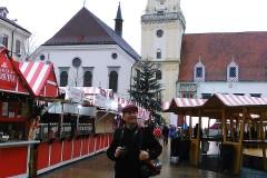 东欧六国之旅...布拉迪斯拉发市政厅风景区随拍
