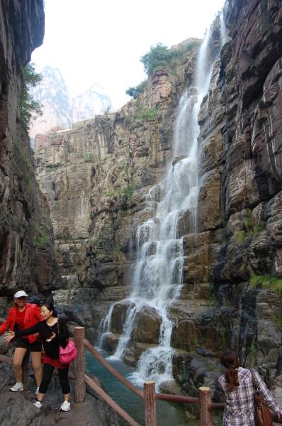 地的河南省,虽古迹众多、历史悠 但2011年8月26日的河南焦作云台图片