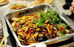 贵州美食-留一手特色烤鱼