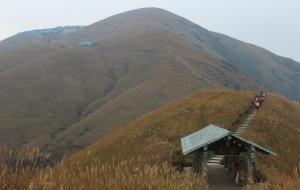 【武功山图片】一个人、一个背包、两根登山杖负重登顶--武功山二日游