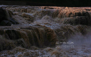 【临汾图片】怒吼般的咆哮——黄河壶口瀑布!