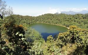 【危地马拉图片】瓜地马拉背包游-(希拉)爬火山圣湖-Laguna Chicabal