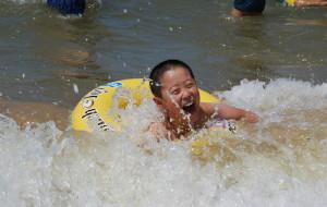 【鲅鱼圈图片】碧海蓝天白沙湾-鲅鱼圈四日游2013(7.29-8.1)