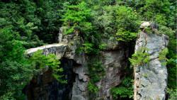 张家界景点-仙人桥