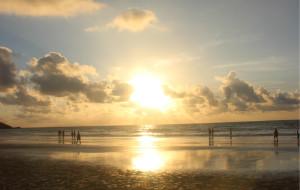 【上川岛图片】上川岛飞沙滩---日出美啊!