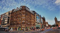 爱丁堡景点-王子街
