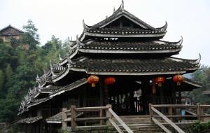 【三江图片】三江侗族自治县八寨风光——程阳风雨桥