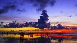 巴厘岛景点-库塔海滩