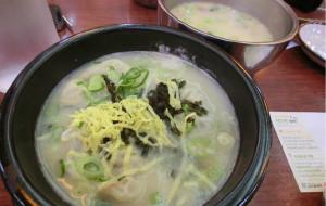 韩国美食-神仙雪浓汤(明洞店)