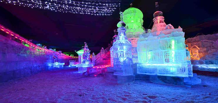 老街冰灯艺术馆