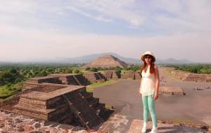【墨西哥城图片】墨西哥.提欧提瓦坎之美洲古文明  2013年6月