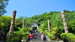 千岛湖景点-龙山岛