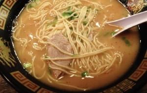 日本美食-一兰拉面(京都河原町店)