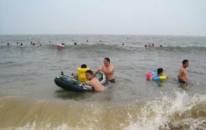 【日照图片】日照行~~~没有碧海蓝天,只有游泳海鲜