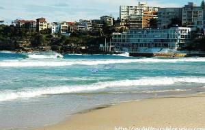【悉尼图片】热情奔放的邦迪海滩——新南威尔士州之悉尼四